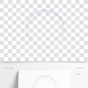 幾何圖形線條圓形元素
