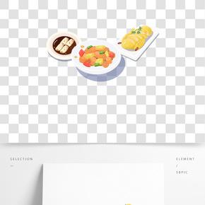中國傳統美食之手繪美味粵菜