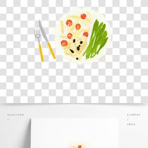 餐飲廣告之卡通美味西餐