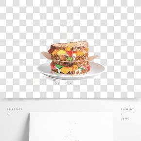美味可口的食物手繪設計