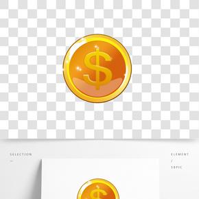 618狂歡節金幣矢量圖