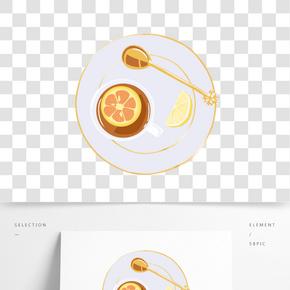 餐飲廣告之飲料卡通設計