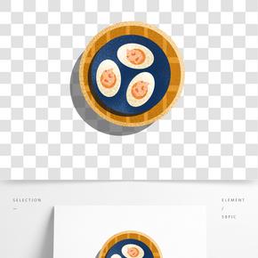 餐飲廣告之卡通美味糕點設計