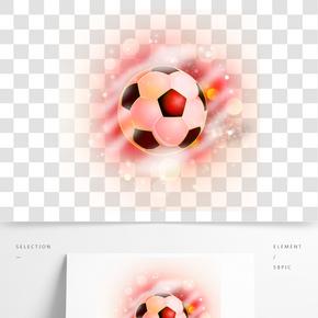 光效炫酷时尚世界杯足球
