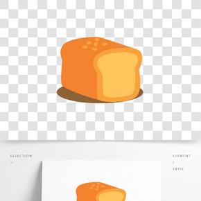 面包矢量插畫PNG