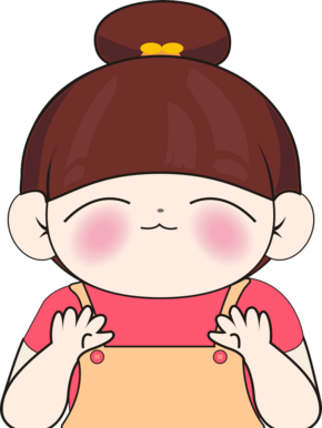 卡通可爱女孩千库原创漫画