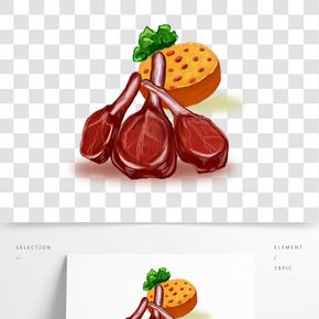 插畫類手繪美味食物