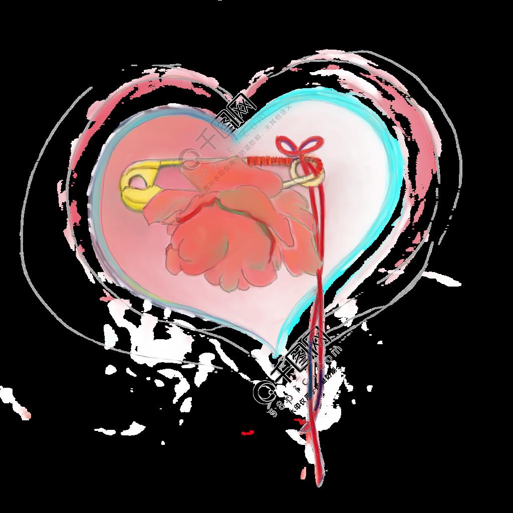 情人节爱心玫瑰浪漫装饰