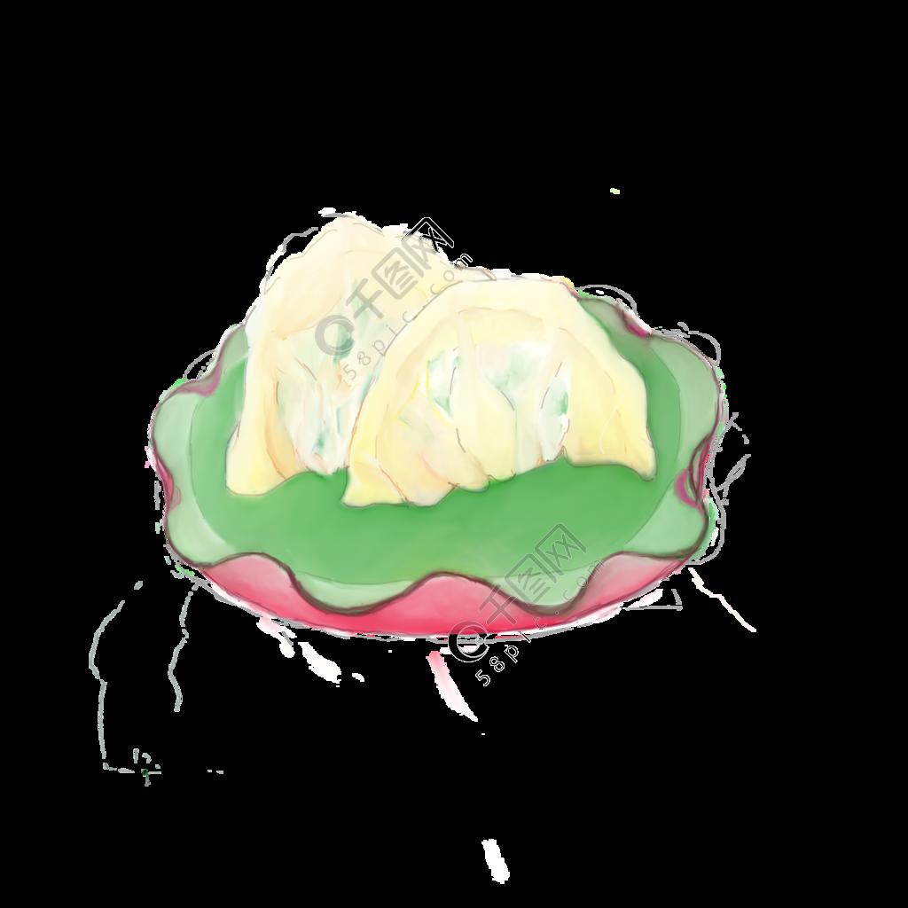 春节饺子美食喜庆祝福