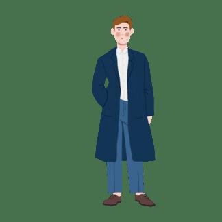 风衣素材_风衣素材绅士