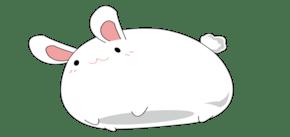 可爱的白色猫咪边框插画