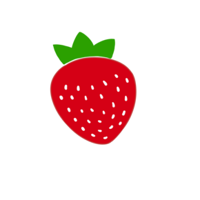 手绘水果草莓?#30423;?#19968;