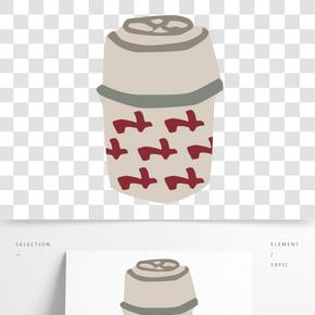 灰色燜燒杯免摳圖