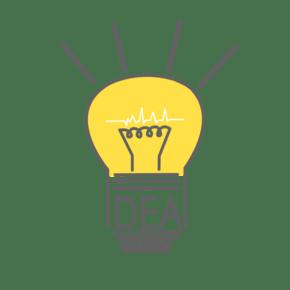 灯泡英文创意IDEA卡通PNG