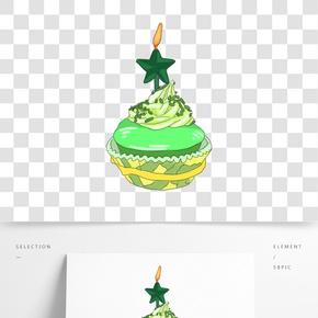 插畫手繪甜點蛋糕