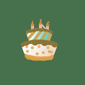 手绘蛋糕通用词生日蛋糕