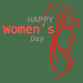 三八妇女节女人图案