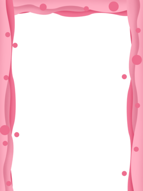 粉色颜色渐变边框
