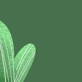 卡通绿色的盆栽免抠图