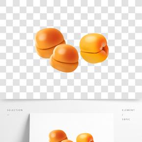 亮晶晶的李子水果插畫