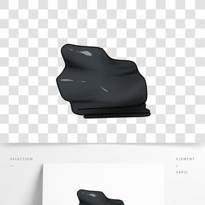 顆粒感石頭插畫 PNG圖片