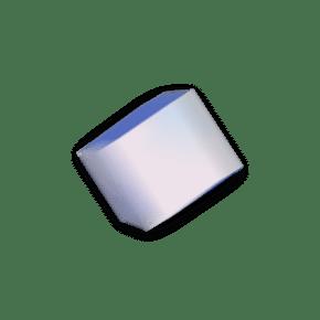蓝色粉色立方块正方形动感模糊装饰效果免扣png