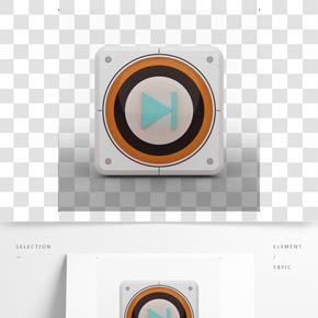 精致按鈕圖標03——矢量素材