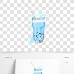 仿真寫實類冷飲水彩
