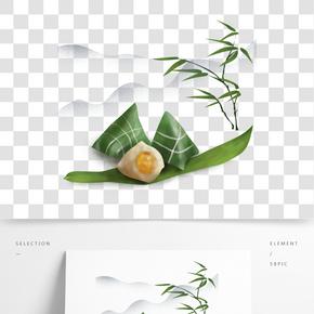中國風美食粽子裝飾