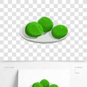 青團綠色可愛清新
