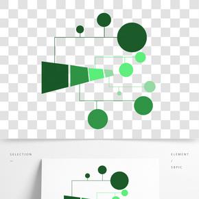 科技模板裝飾插圖