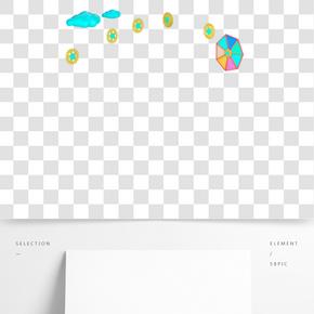 云彩和齒輪PNG免摳圖