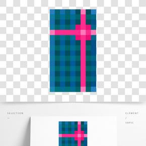 像素節日禮物盒子