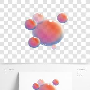 氣泡玩具卡通插畫