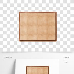 木頭材質板子插畫