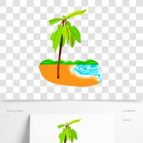 綠色椰子樹