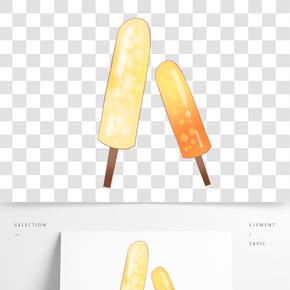 冰糕冰柜冷飲插畫