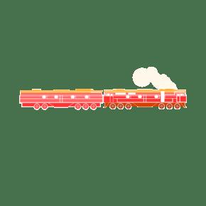 卡通火车PNG下载