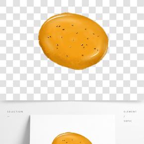 美味甜點面包插畫