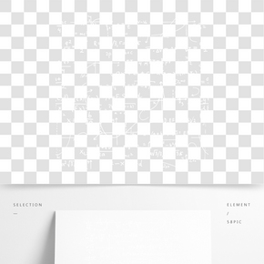 白色數學物理粉筆字