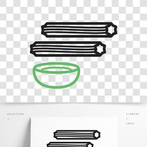 面條飯碗圖標