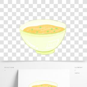 食物油茶飯碗