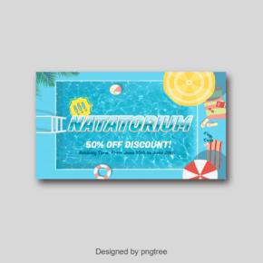 现代海报与凉爽的气氛游泳馆?#22270;?#21333;的字体