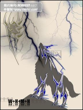 战狼战神概念图