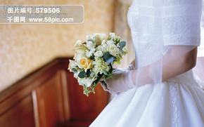 西式婚礼 新娘 捧花