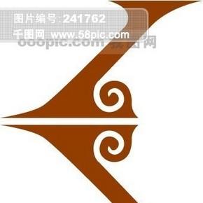 中国古典元素 图案 图纹 线条 图标 花纹 底纹 ?#32654;创?#24072;之古建瑰宝 火云携神 小品王全集 EPS源文件 素材