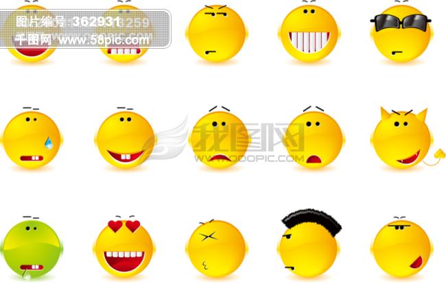 表情笑脸 图片免费下载 表情笑脸素材 表情笑脸模板 千图网