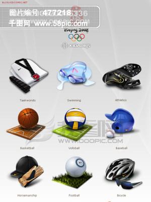08奥运会图标