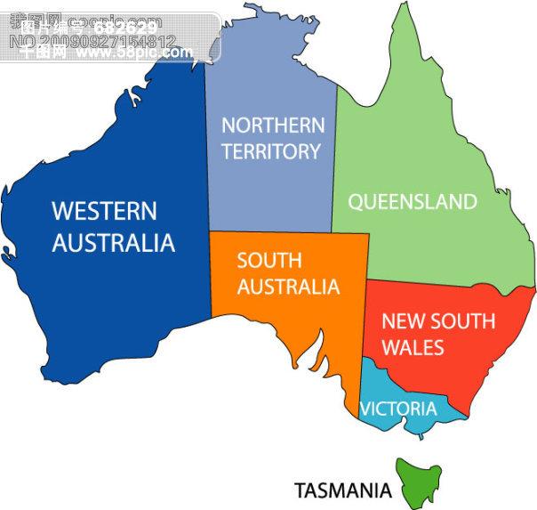 手套 服装 行业 矢量花纹 潮流矢量图 手绘 澳大利亚 澳洲 地图 其他