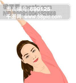 韩国人物素材